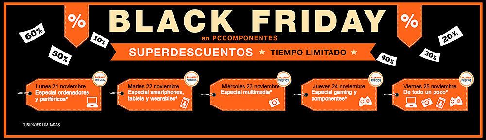 Ofertas Black Friday de El Corte Inglés