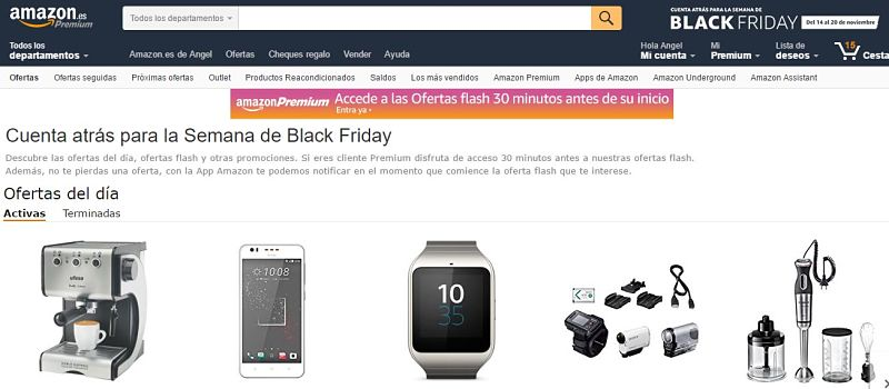 Black Friday en Amazon ofertas