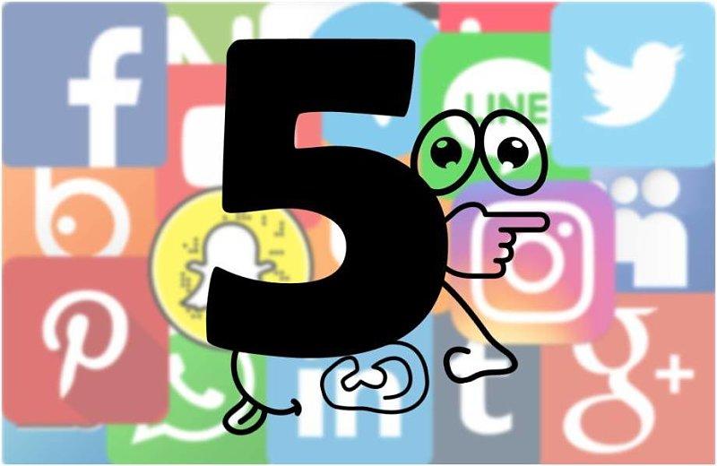 Los 5 sentidos de las redes sociales